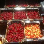 Подготовка сорта черешни Техлован и сорта Вега для розничной торговли.